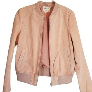 White Crow bomber jacket suede NEW